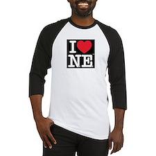 I Love NE Baseball Jersey