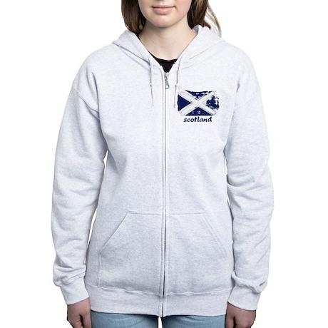 Scotland Women's Zip Hoodie