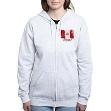 Peru Zipped Hoody