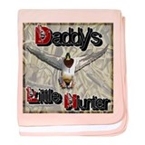 Daddy's Lil' Hunter II baby blanket