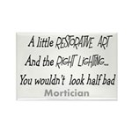 Funeral Director/Mortician Rectangle Magnet (100 p