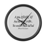 Funeral Director/Mortician Large Wall Clock