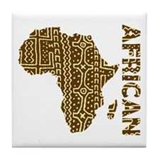 African Tile Coaster