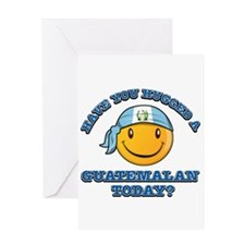 Have you hugged a Guatemalan today? Greeting Card