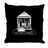 New Orleans Shotgun Throw Pillow