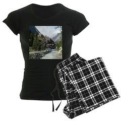 Zermatt Switzerland Women's Dark Pajamas