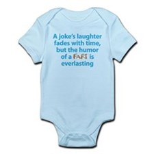 Fart humor Infant Bodysuit