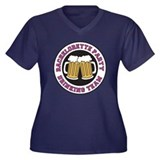 Bachelorette Drinking Team Women's Plus Size V-Nec
