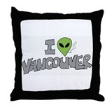 Vancouver Love (Jose Chung st Throw Pillow