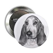 """Bassett Hound 2.25"""" Button (10 pack)"""