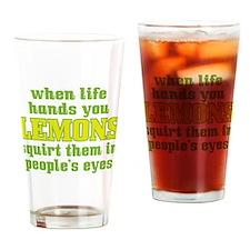Rude Lemons Pint Glass