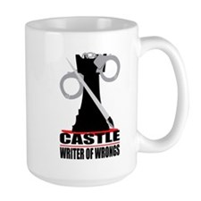 Castle: Writer of Wrongs Large Mug