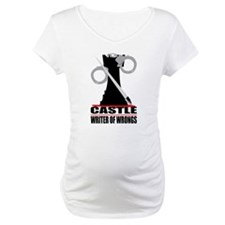 Castle: Writer of Wrongs Maternity T-Shirt