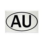 AUSTRALIA OVAL STICKERS & MOR Rectangle Magnet (10