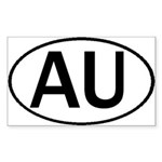 AUSTRALIA OVAL STICKERS & MOR Sticker (Rectangle 5
