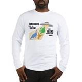 Cute Stegosaurus Long Sleeve T-Shirt