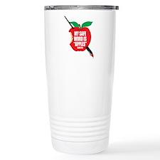 Castle: Apples Stainless Steel Travel Mug