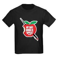 Castle: Apples Kids Dark T-Shirt