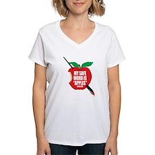 Castle: Apples Women's V-Neck T-Shirt