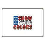 Show Your Colors Banner