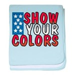 Show Your Colors baby blanket