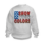 Show Your Colors Kids Sweatshirt