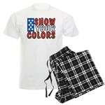 Show Your Colors Men's Light Pajamas