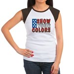 Show Your Colors Women's Cap Sleeve T-Shirt