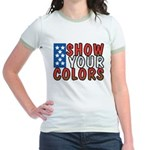 Show Your Colors Jr. Ringer T-Shirt