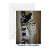 Cute American native Greeting Cards (Pk of 10)