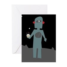 Cute Robots Greeting Cards (Pk of 20)