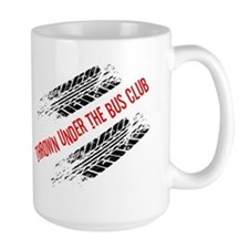 Thrown Under the Bus Club Ceramic Mugs