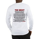 Squat Poem Long Sleeve T-Shirt