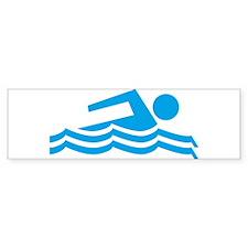 Swimmer Sticker (Bumper 10 pk)