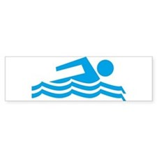 Swimmer Sticker (Bumper)