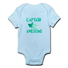 Captain Awesome Boat Onesie