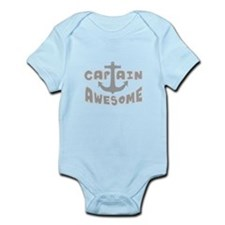 Captain Awesome Anchor Onesie