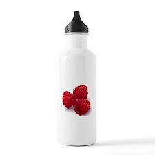 Raspberries Water Bottle