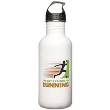 Passion for Running Water Bottle