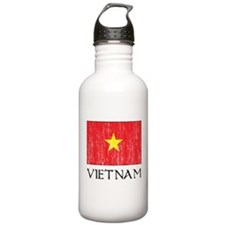 Vietnam Flag Water Bottle