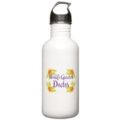 World's Greatest Doctor Stainless Water Bottle 1.0