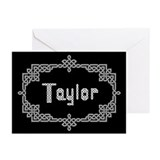 """Celtic Knots Taylor"" Greeting Cards (Pk of 10"