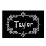"""Celtic Knots Taylor"" Postcards (Package of 8)"
