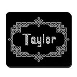 """Celtic Knots Taylor"" Mousepad"