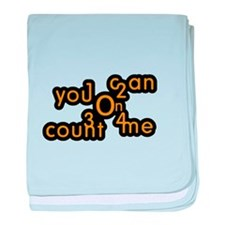 You Can Count On Me baby blanket