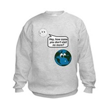Moon Earth Visit Anymore Shir Jumper Sweater