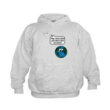 Moon Earth Visit Anymore Shir Hoodie