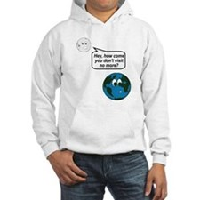Moon Earth Visit Anymore Shir Jumper Hoodie