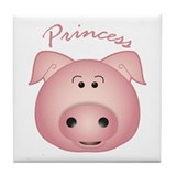 Cute Prince Tile Coaster