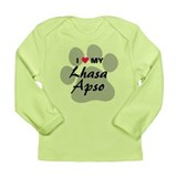 Lhasa Apso Long Sleeve Infant T-Shirt